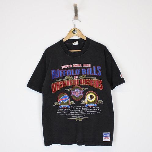 Vintage 1992 NFL Super Bowl  T-Shirt Large