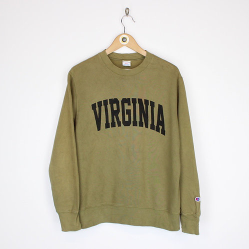 Vintage Champion Virginia Sweatshirt Small