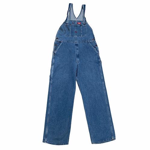 Vintage Dickies Workwear Dungarees Large