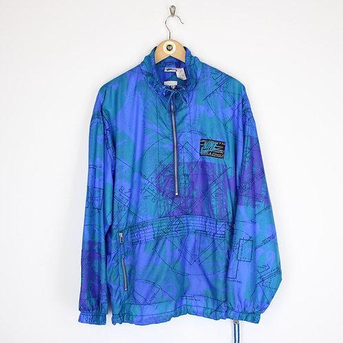 Vintage 80's Nike Shell Jacket Large