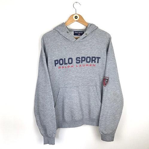 Vintage Polo Sport Hoodie Large