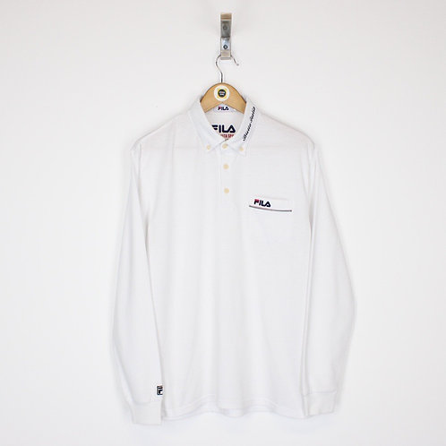 Vintage Fila Polo Shirt Medium