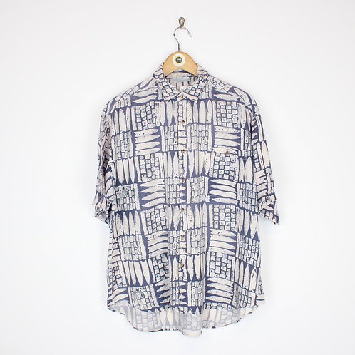 Vintage Abstract Shirt Large