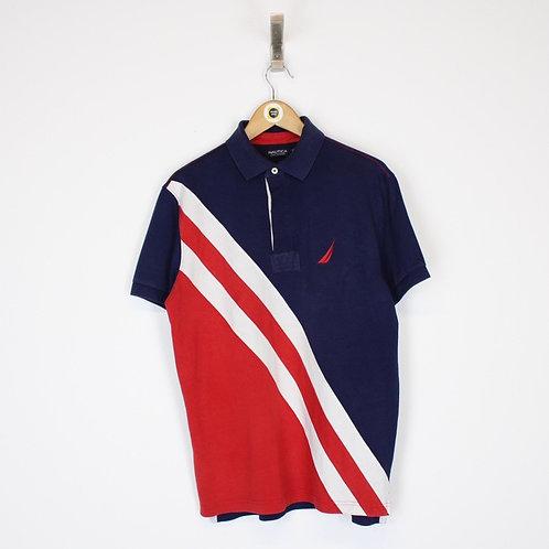 Vintage Nautica Polo Shirt Medium