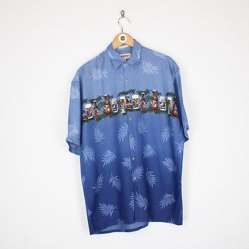 Vintage Abstract Shirt Medium