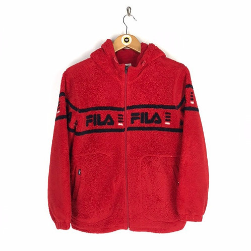 Vintage Fila Sherpa Fleece Medium