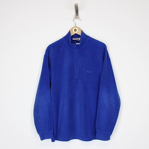 Vintage Fila Fleece Large