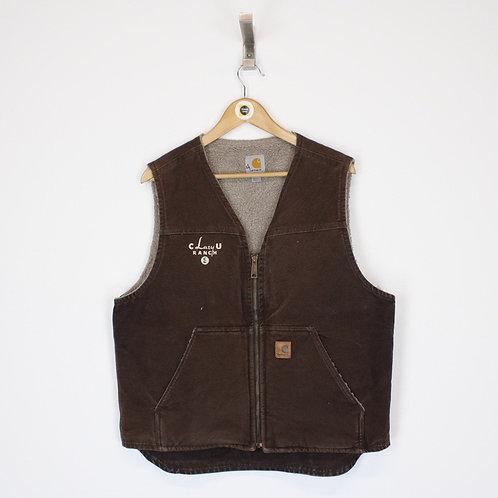 Vintage Carhartt Workwear Vest Large