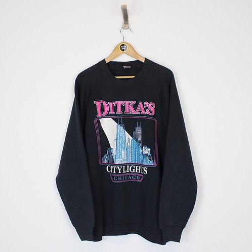 Vintage Chicago USA Sweatshirt XL