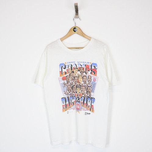 Vintage 1990 Detroit Pistons NBA T-Shirt Large