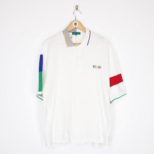 Vintage Kenzo Polo Shirt Large