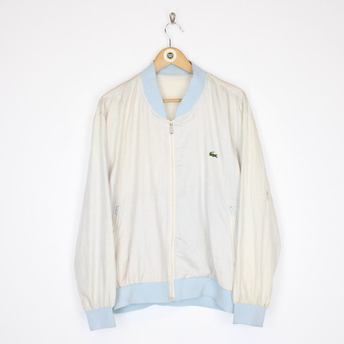 Vintage Lacoste Bomber Jacket Large