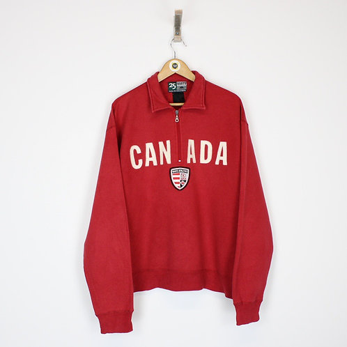 Vintage Roots Canada Sweatshirt Large