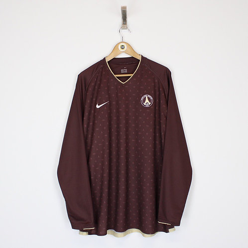 Vintage 2006/07 PSG Football Shirt XXL
