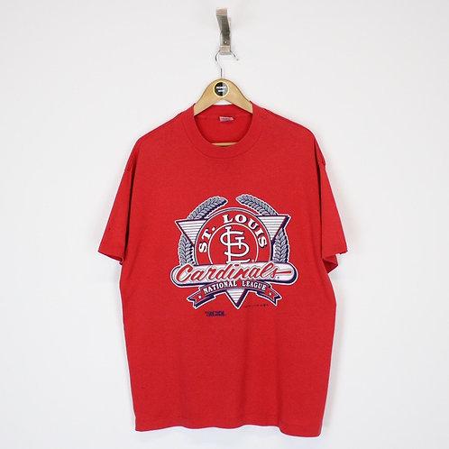 Vintage 1991 St Louis Cardinals MLB T-Shirt XL