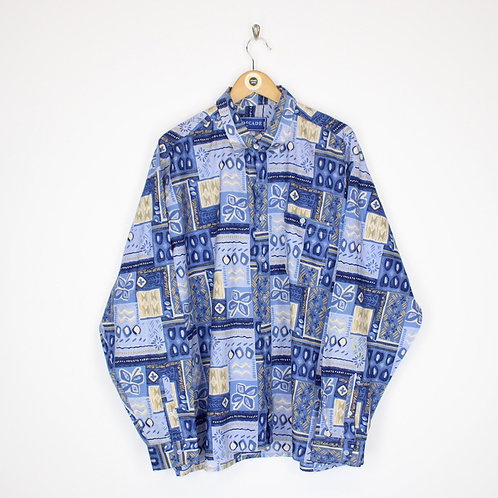 Vintage Abstract Shirt XL