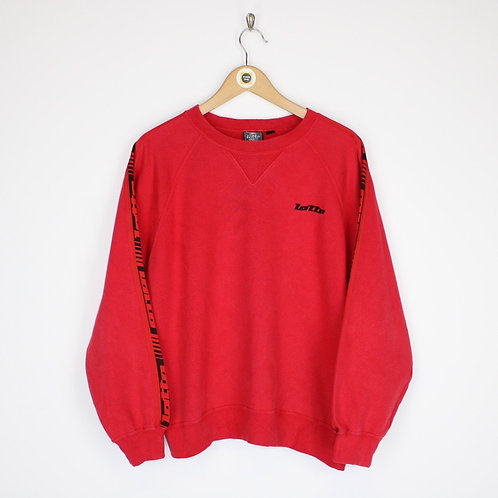 Vintage Lotto Sweatshirt Medium