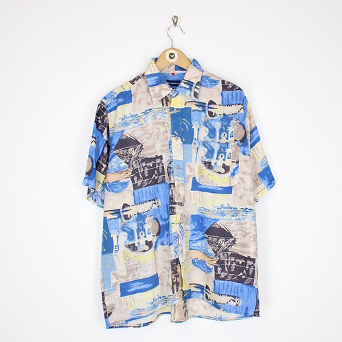 Vintage Abstract Shirt XL