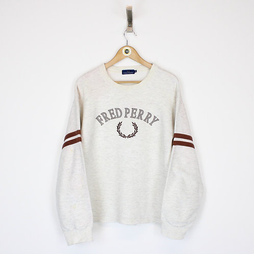 Vintage Fred Perry Sweatshirt Small
