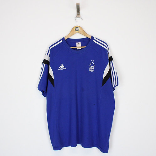 Vintage Adidas Notts Forest T-Shirt XXL