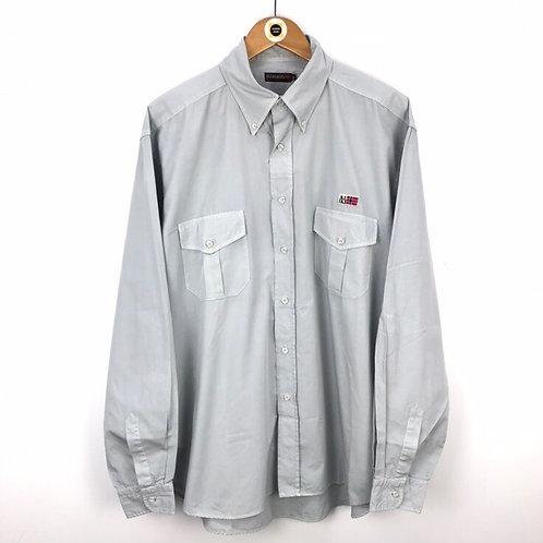 Vintage Napapijri Tactical Shirt XXL