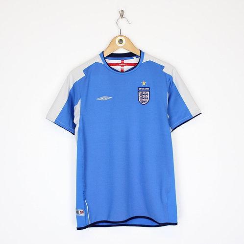 Vintage Umbro England Football Shirt Small