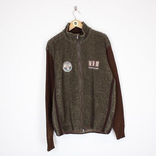 Vintage Napapijri Fleece Jacket XL