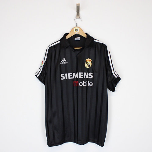 Vintage 2002/03 Real Madrid Shirt XL