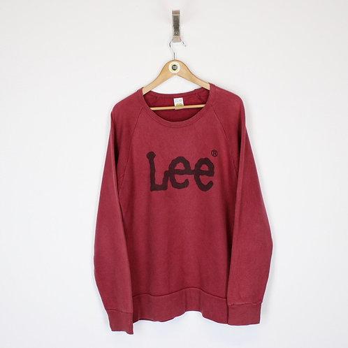 Vintage Lee Sweatshirt Medium
