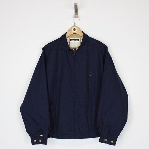 Vintage Nautica Reversible Jacket XL