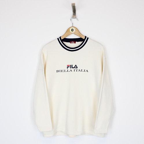 Vintage Fila Sweatshirt Large
