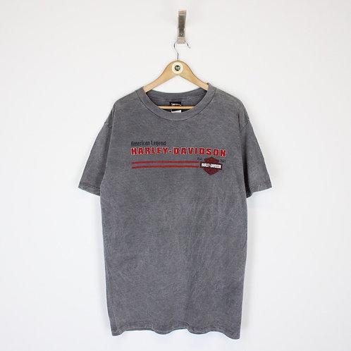 Vintage 2002 Harley Davidson T-Shirt Large
