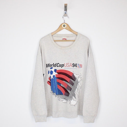 Vintage 1994 USA World Cup Sweatshirt Large