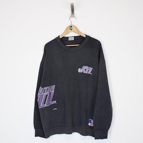 Vintage Utah Jazz NBA Sweatshirt Large