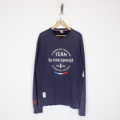 Vintage Le Coq Sportif Sweatshirt XL