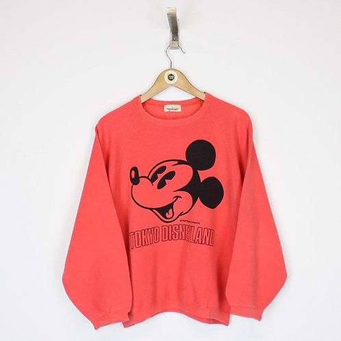 Vintage Disneyland Tokyo Sweatshirt Medium