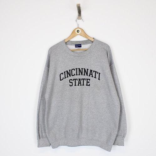Vintage Cincinnati State Sweatshirt Large