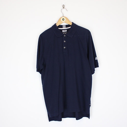 Vintage Adidas Polo Shirt Medium