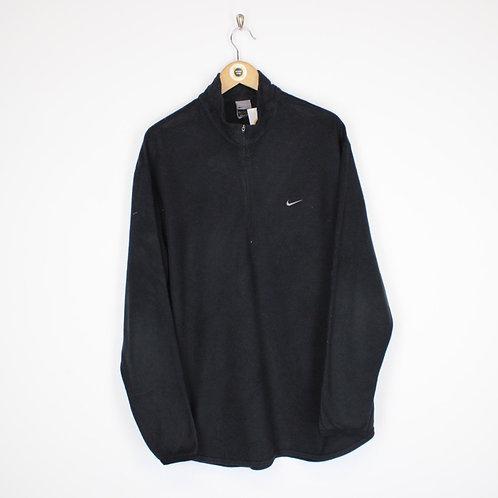 Vintage Nike 1/4 Zip Fleece Large