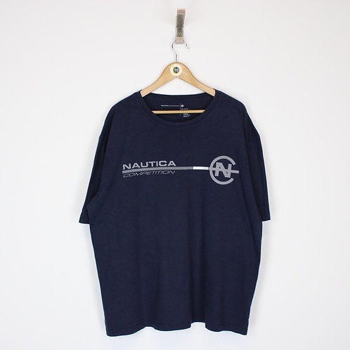 Vintage Nautica Competition T-Shirt XXL