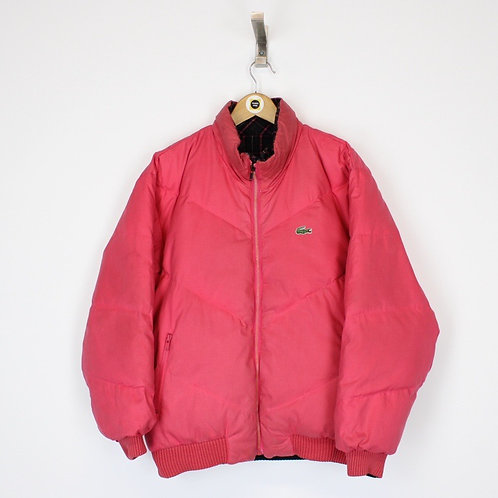 Vintage Lacoste Puffer Jacket Large