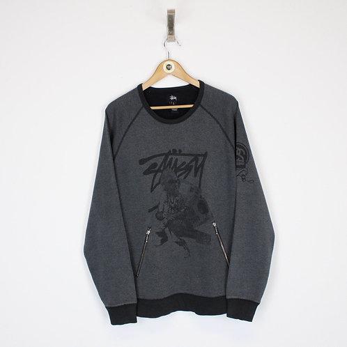 Vintage Stussy Sweatshirt Large