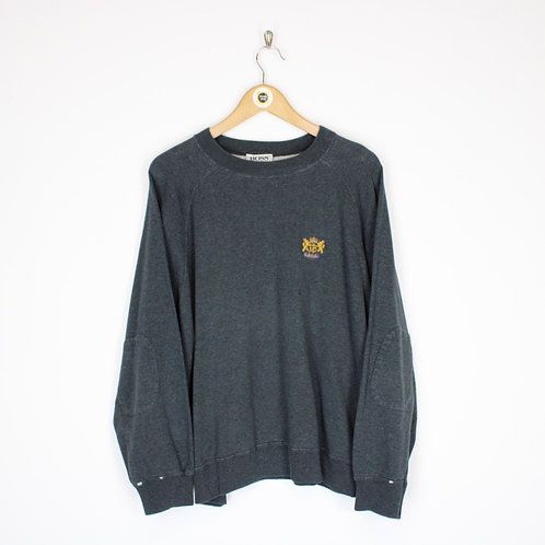 Vintage Hugo Boss Sweatshirt Small