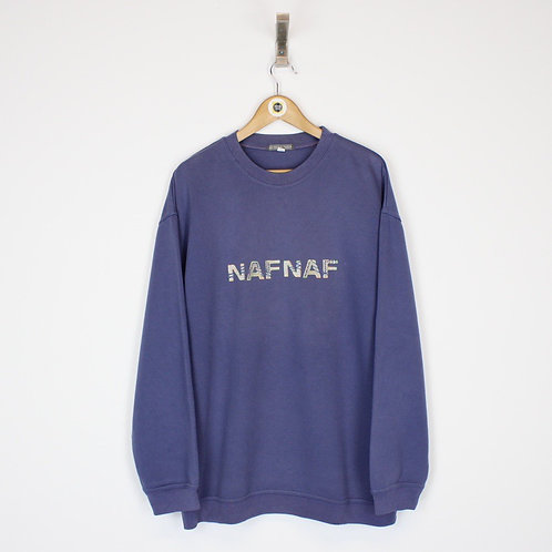 Vintage Naf Naf Sweatshirt XL