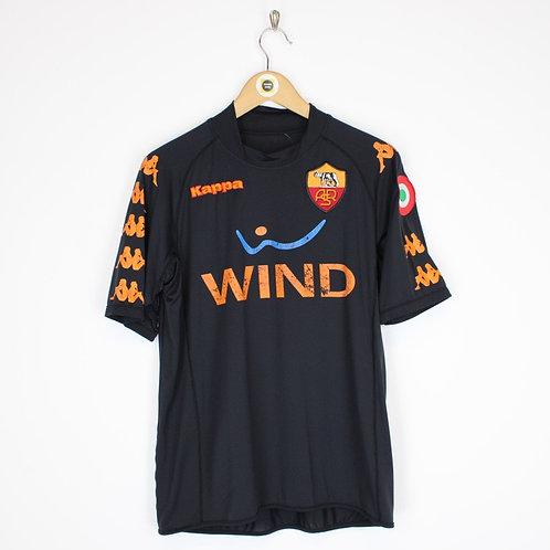 Vintage AS Roma 2008/09 Football Shirt Small