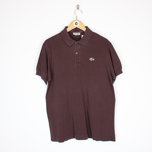 Vintage Lacoste Polo Shirt Medium