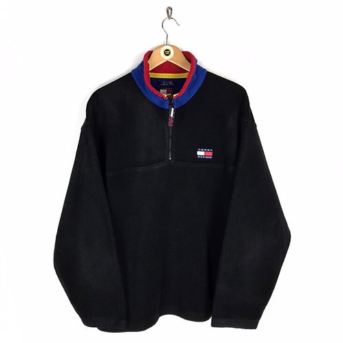 Vintage Tommy Hilfiger 1/4 Zip Fleece XL