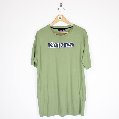 Vintage Kappa Spellout T-Shirt XXL