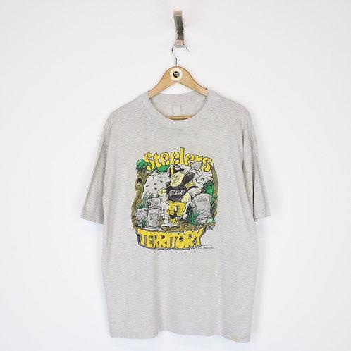 Vintage 1993 NFL Pittsburgh Steelers T-Shirt Large