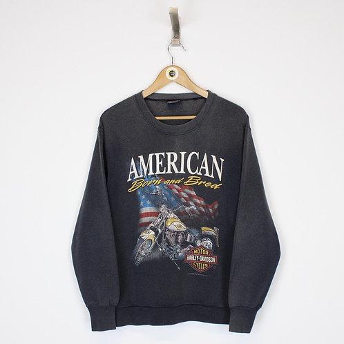 Vintage Harley Davidson Sweatshirt Small